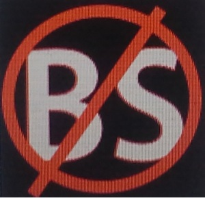 Logo of the new BS app, created by Bold Face, Inc.
