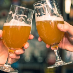 Is the glass half-empty, or full? Beer drinkers ponder the fate of their favorite drink.