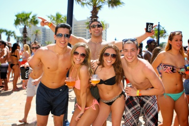 Spring break flings aren't always what they seem, according to some revelers.