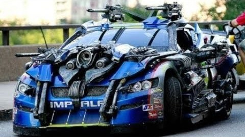 armored sports car